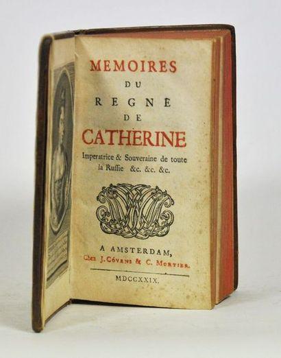 [ROUSSET de MISSY (Jean)]. Mémoires du règne...
