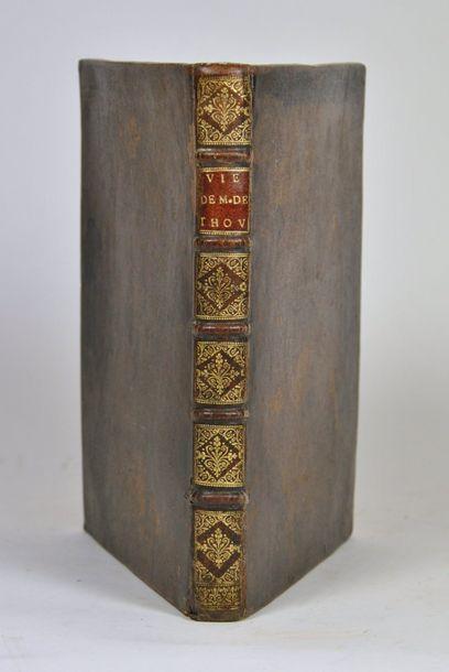 THOU (Jacques-Auguste de). Memoires de la...