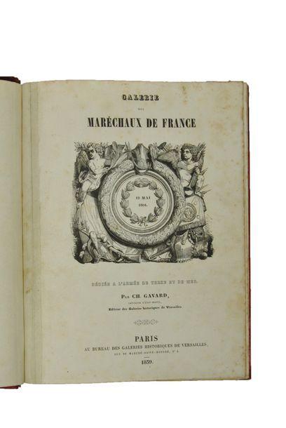 GAVARD (Charles). Galerie des Maréchaux de...