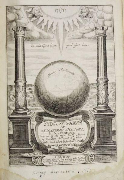 BACON (Francis). Sylva Sylvarum or A natural...