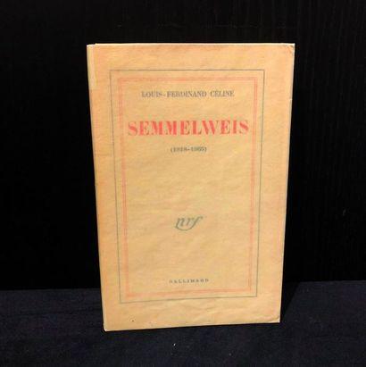 CELINE (Louis-Ferdinand). Semmelweis (1818-1865)....