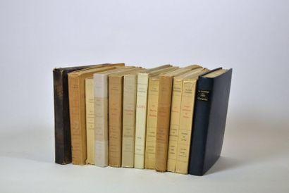 FARRERE (Claude). 12 volumes, tous en grand...