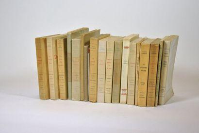 FARRERE (Claude). 19 volumes in-8 ou in-12...