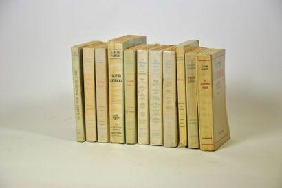 FARRERE (Claude). 11 volumes in-8 ou in-12...