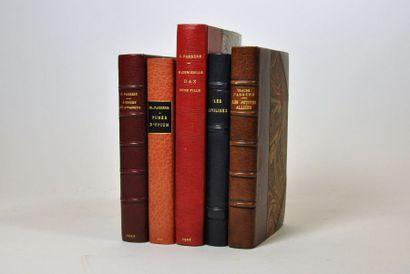 FARRERE (Claude). 5 volumes bien reliés :...