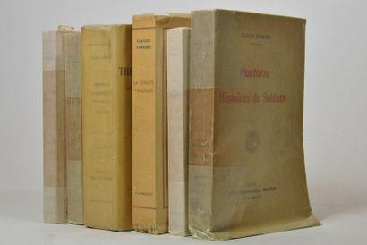FARRERE (Claude). 6 volumes in-8 ou in-12...