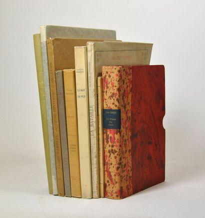 FARRERE (Claude). 9 volumes illustrés :  -...