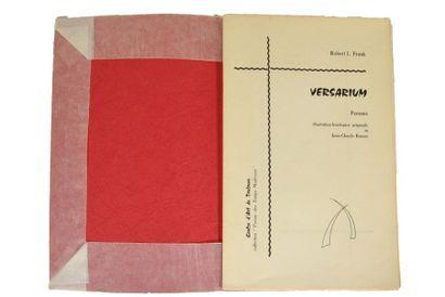 FRANK (Robert L.). Versarium. Poèmes. Illustration...