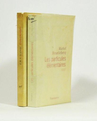 HOUELLEBECQ (Michel). Les Particules élémentaires....