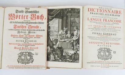 BUXTORF (Auguste J.). Nouveau Dictionnaire...