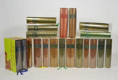 PLEIADE (LA). 20 volumes de La Pléiade tous...