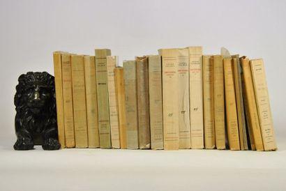 SALMON (André). Ensemble de 22 volumes in-8...