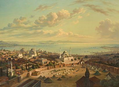 Hubert SATTLER (Salzbourg 1817 - Vienne 1904)...