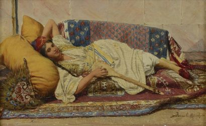 *Daniel ISRAEL (Autrichien 1859 - 1901) Orientale...
