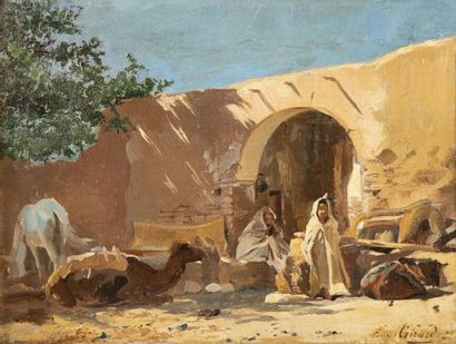 Eugène Alexis GIRARDET (Paris 1853-1907)...