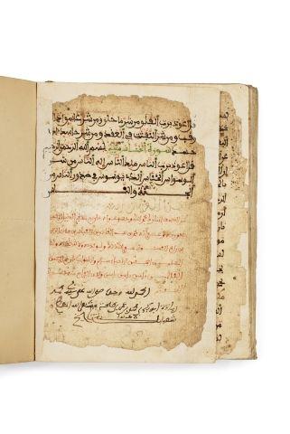 Coran d'Afrique du Nord signé Muhammad b. Abdul Kader b. Abbas b. Ali b. al-z.....