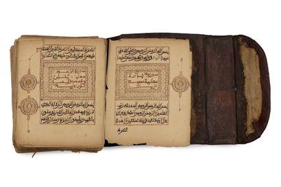 Coran d'Afrique de l'Ouest Manuscrit arabe...