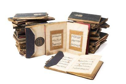 Coran Chinois en 30 Juz Manuscrit arabe sur...