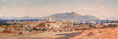 Constant LOUCHE (Alger1880 - Grenoble 1965)...