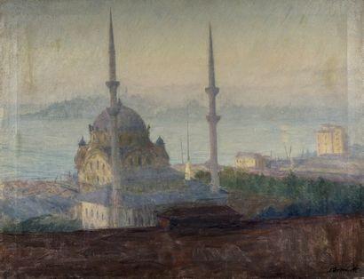S. IVANOFF (Actif au XX ème siècle ) Mosquée...