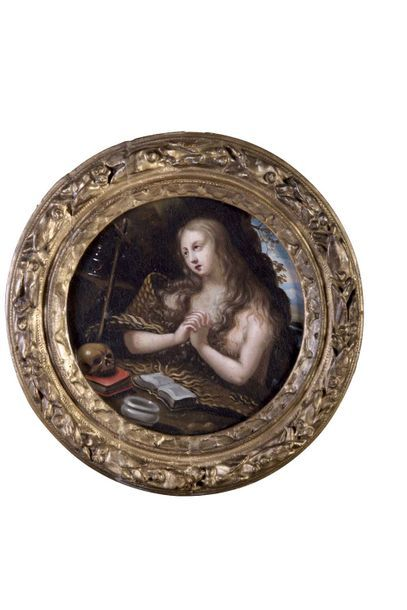 Ecole FRANCAISE vers 1640  Marie-Madeleine...