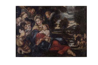 Ecole ITALIENNE du XVIIème siècle, entourage...