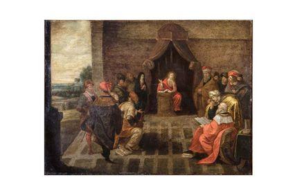 Ecole ANVERSOISE du début du XVIIème siècle,...