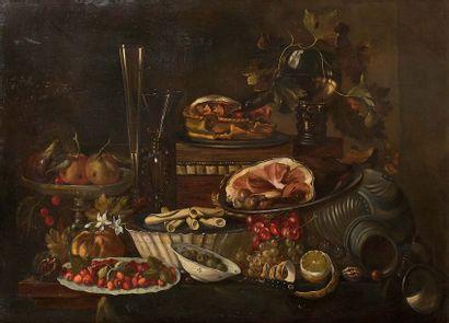 Ecole FLAMANDE vers 1800, dans le goût de...