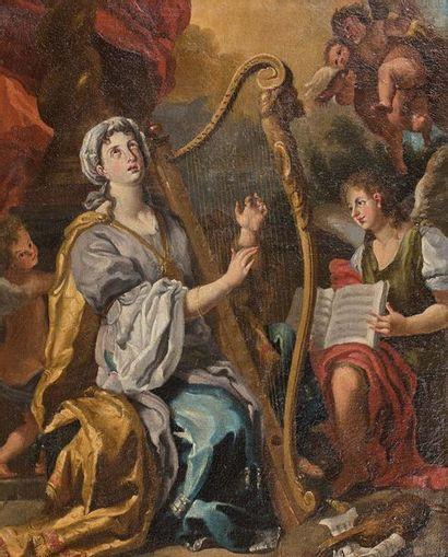 Ecole NAPOLITAINE vers 1700, suiveur de Francesco...