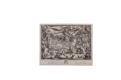 Jacques CALLOT (1592 - 1635)  La Tentation...