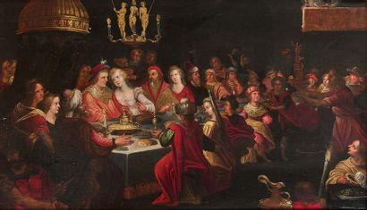 Ecole ANVERSOISE vers 1630, entourage de...