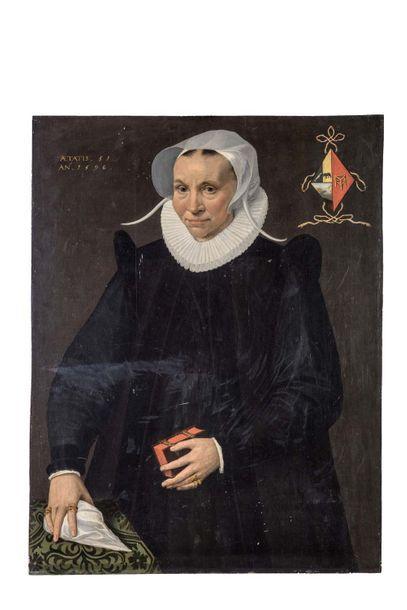 Ecole HOLLANDAISE de la fin du XVIe siècle,...