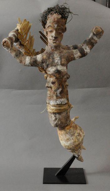 Figure cultuelle utilisée au cours des cérémonies...