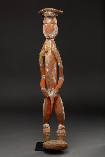 Statue anthropomorphe présentant un ancêtre...