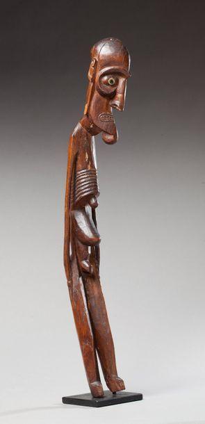 Statue anthropomorphe « Moai kavakava »....