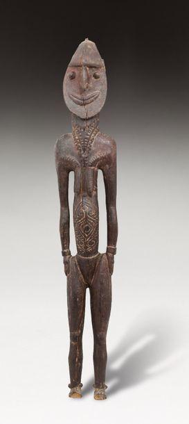 Figure totémique associée au rituel de la...