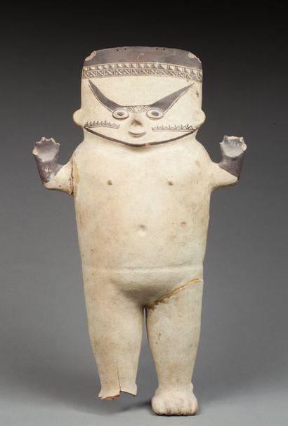 Statue anthropomorphe « Cuchimilco ». Elle...