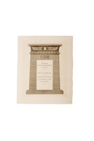 Programme et menu du diner du 9 octobre 1925...