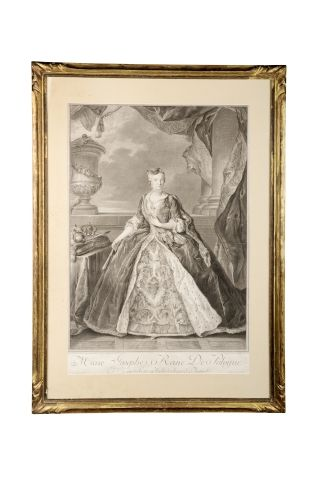 Marie-Josèphe d'Autriche, reine de Pologne...