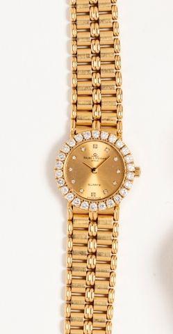 Montre bracelet de dame BAUME MERCIER or...