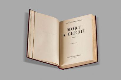 CÉLINE (Louis-Ferdinand). Mort à crédit. Texte intégral. Paris, Frédéric Chambrand,...