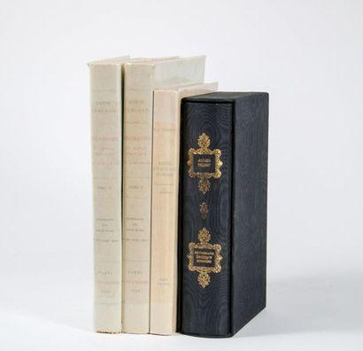 BIBLIOGRAPHIE. Ensemble 3 ouvrages (4 volumes). - PERCEAU (Louis), Bibliographie...