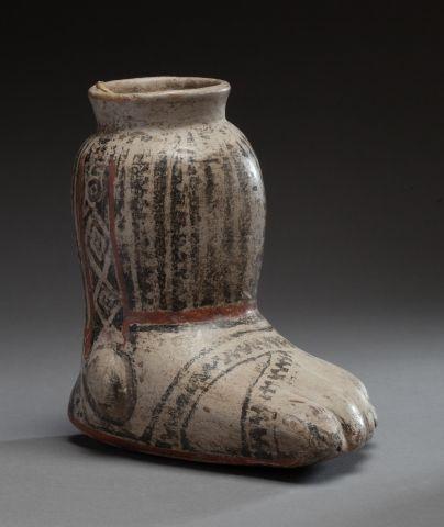 Vase à libation utilisé pour la préparation...