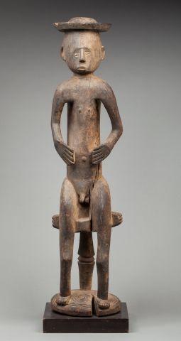 Statue Igala, Nigeria. H. 94,5 cm.