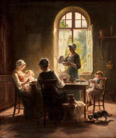 Pauline VALLAYER-MOUTET (Active au XIXème...