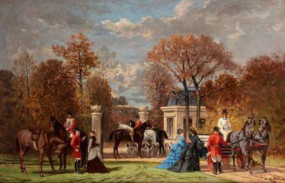 Auguste de MOLINS (Lausanne 18221 - 1890)...