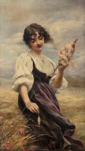 Louise MENAGER (Active à la fin du XIX ème...