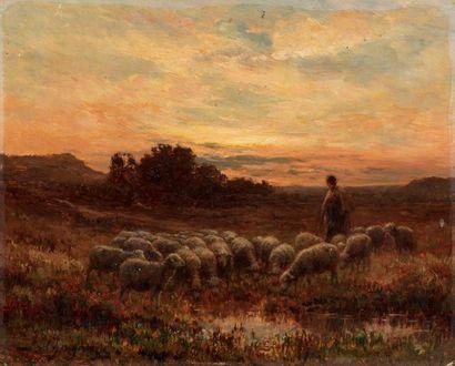 Jean Ferdinand CHAIGNEAU (Bordeaux 1830 -...
