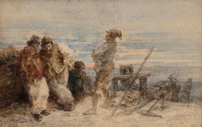 Eugène Louis BOUDIN (Honfleur 1824 - Deauville...