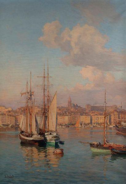 Joseph GARIBALDI (Marseille 1863 - 1941)...